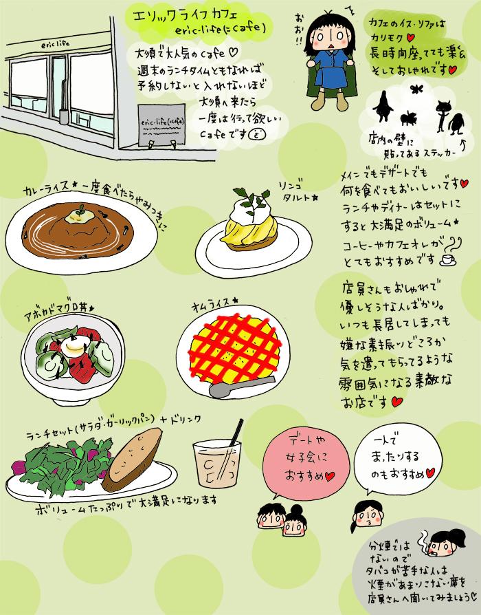 大須でオススメのカフェ エリックライフカフェ eric-life(=cafe)